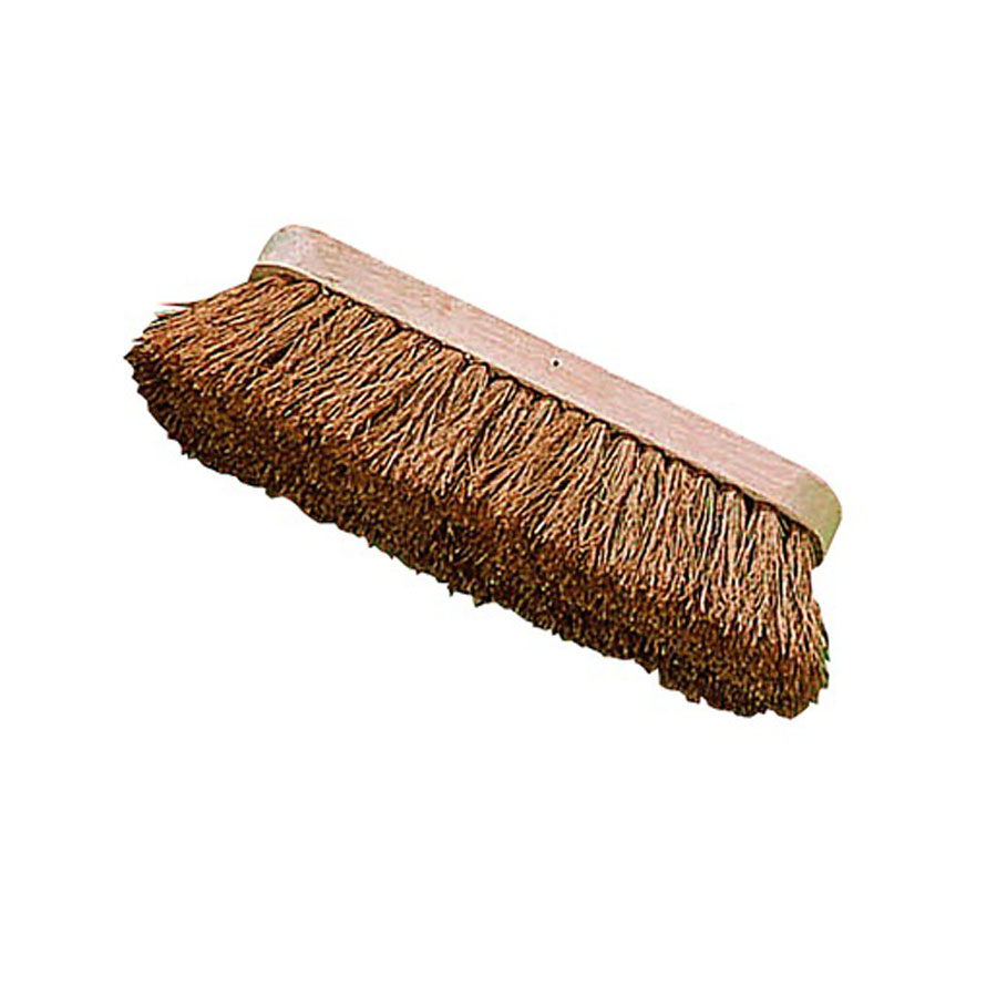 Brushware Natural Coco Fill Broom Head 250mm