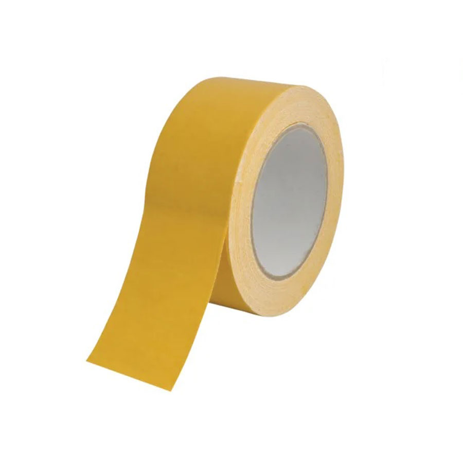 50m x 50mm Yellow Double Sided Tape