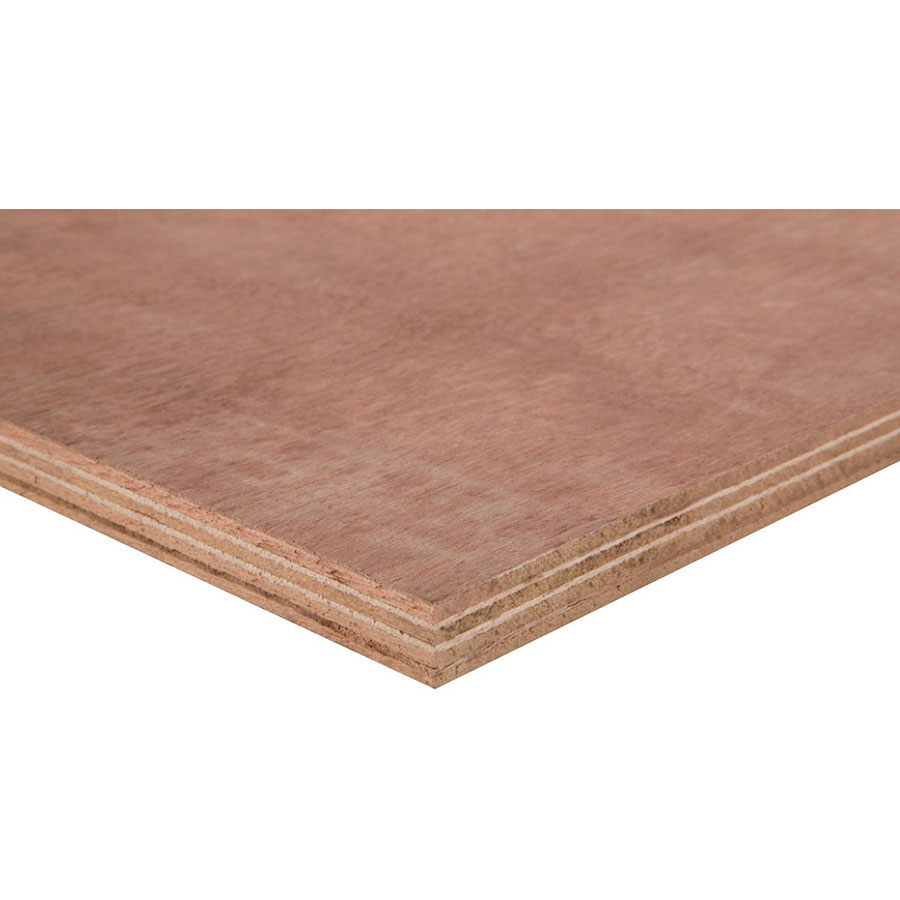 12mm x 1220mm x 2440mm Ext Hardwood Plywood
