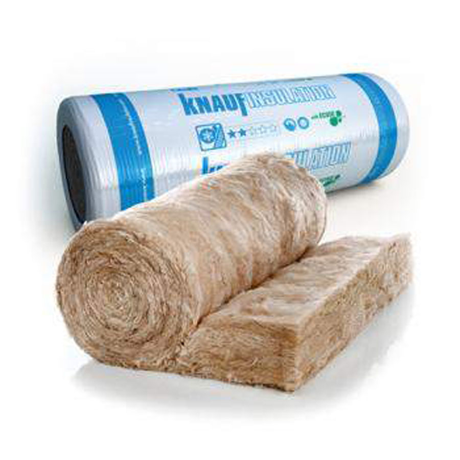 Knauf Earthwool Combi Cut 44 Loft Roll 100mm 13.89m2 Per Roll
