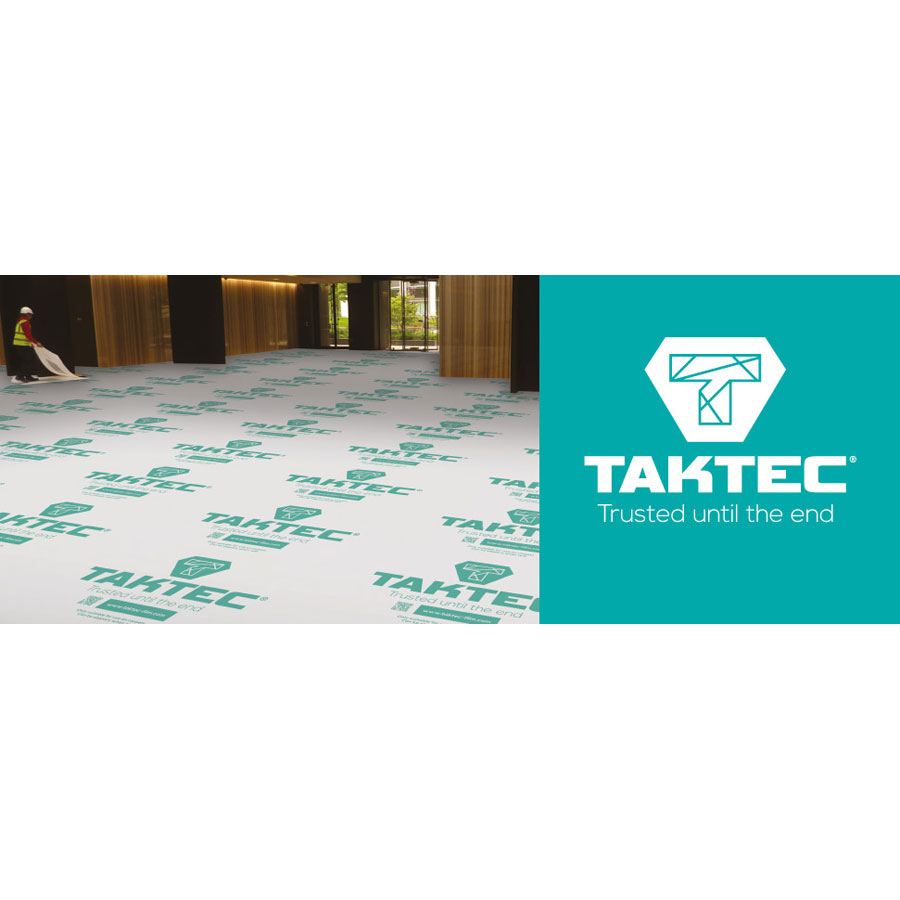 Taktec 25m x 600mm Carpet Protection Film