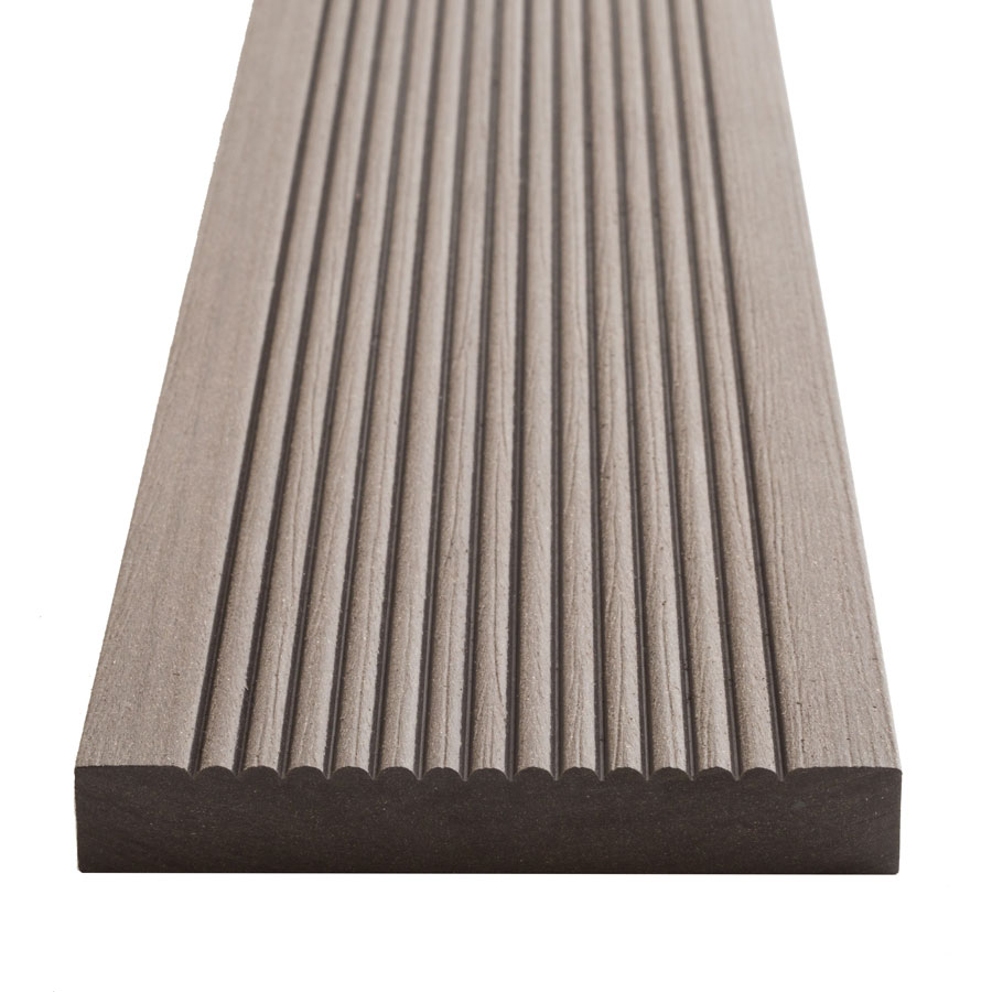 SmartBoard 20mm x 138mm x 3.6m Chocolate Brown Composite Decking