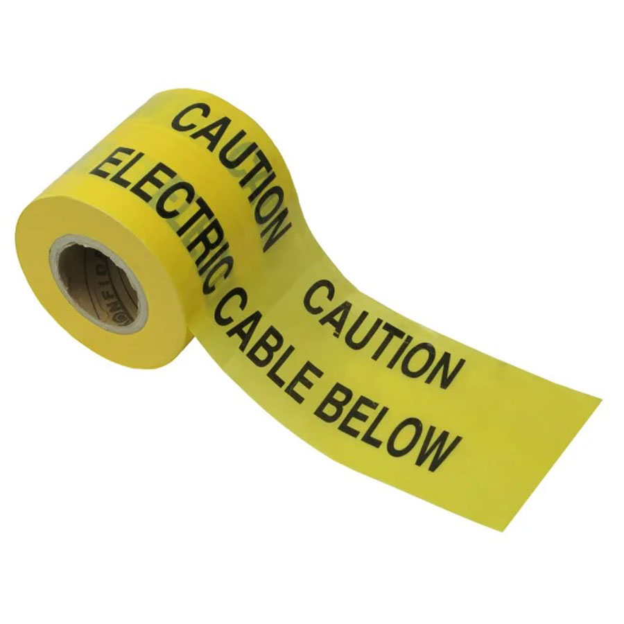 365m x 150mm Underground Electric Warning Tape