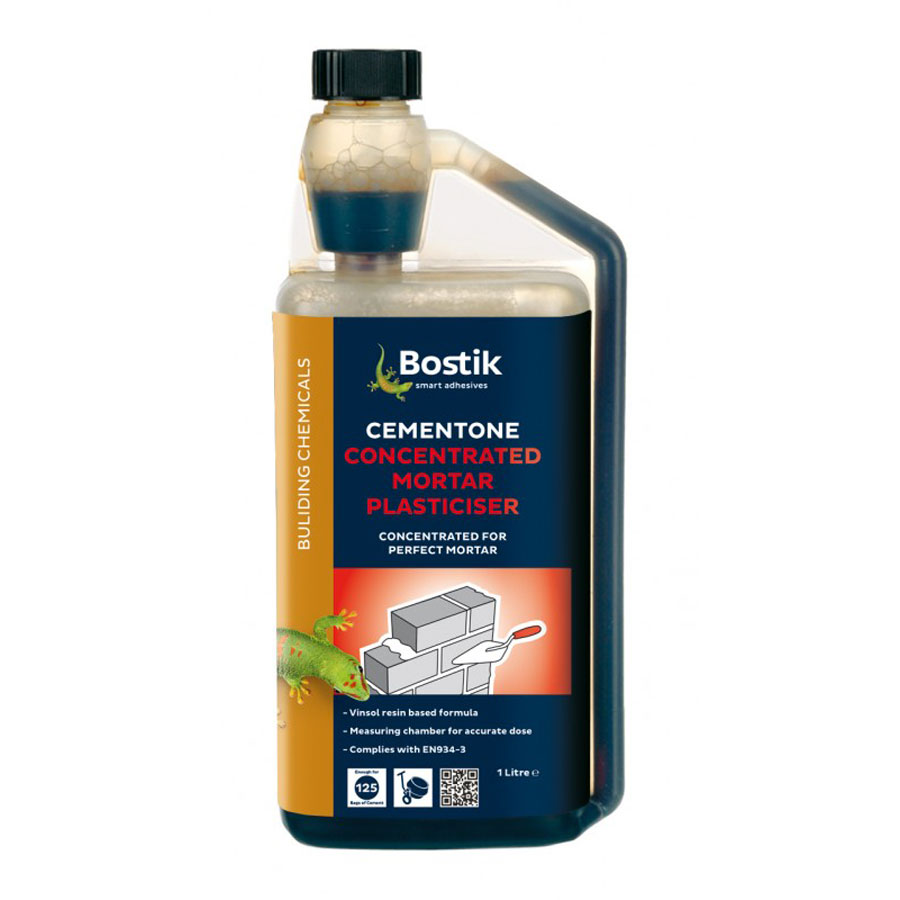 Bostik Cementone Concentrated Mortar Plasticiser 1 Ltr