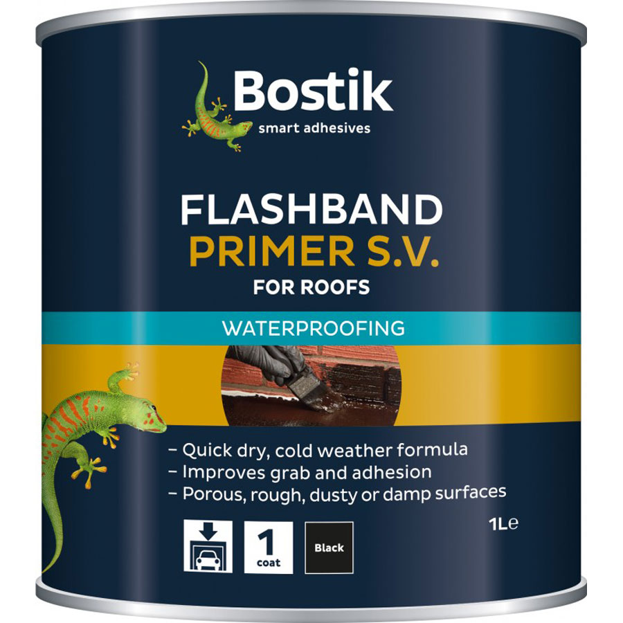 Bostik Black Flashband and Primer S.V. 500ml