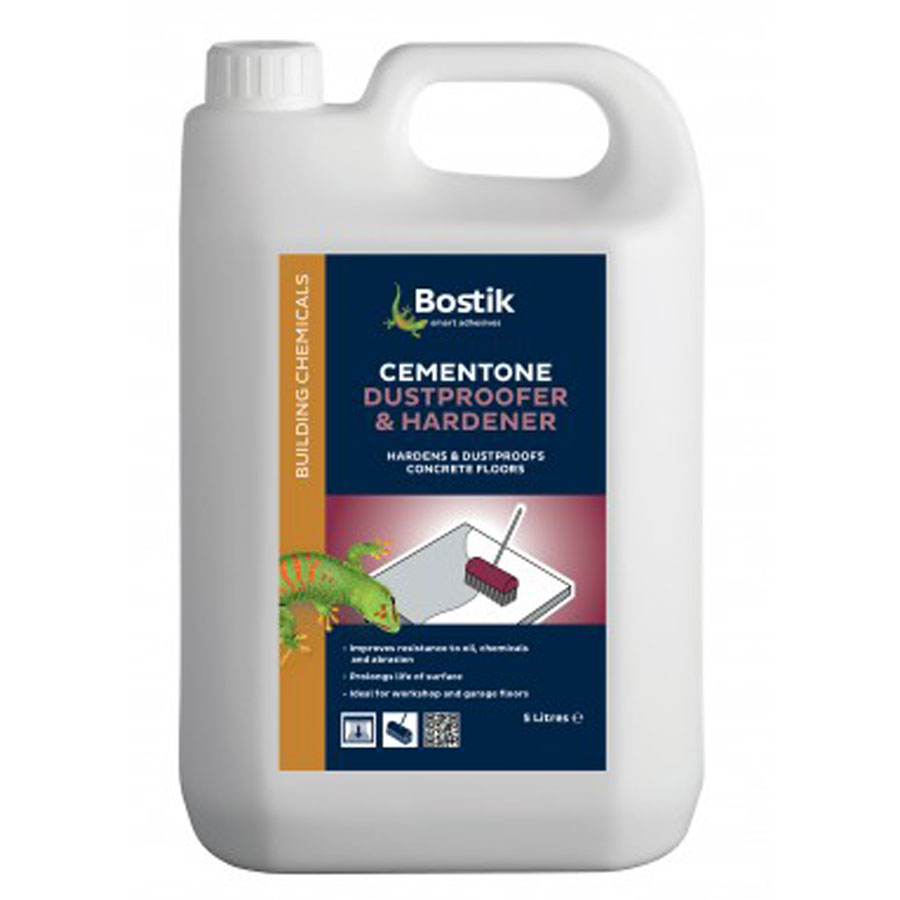 Bostik Cementone Dustproofer And Hardener 5 Ltr