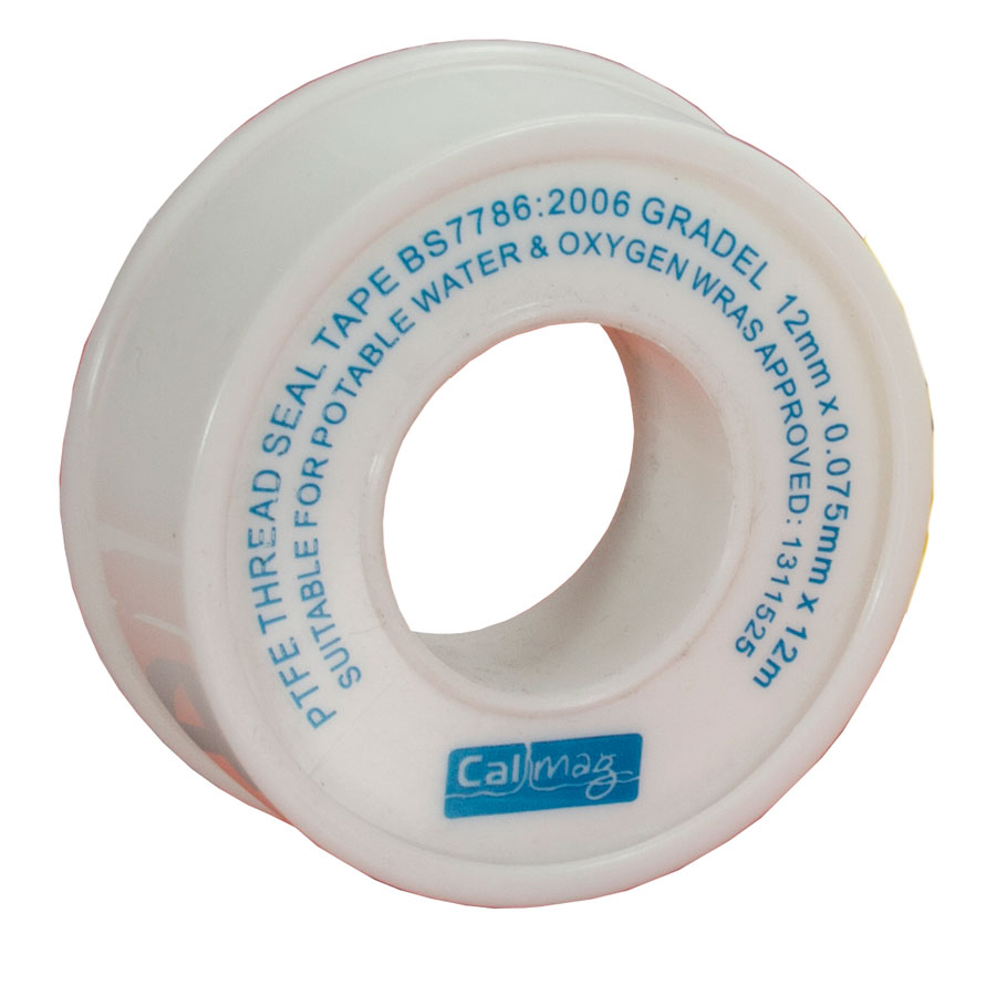 Embrass Peerless 392383 12mm x 12m PTFE Tape Roll