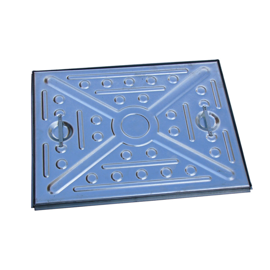 EJ 51CG 600mm x 450mm 5 Tonne Galvanised Steel Manhole Top Cover and Frame