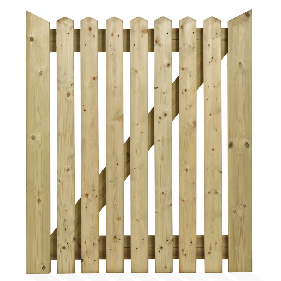 Charltons COT3 TSW PEFC 915mm x 1067mm Softwood Cottage Timber Gate