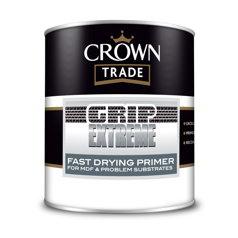Crown Trade Grip Extreme Fast Drying Primer 1 Ltr