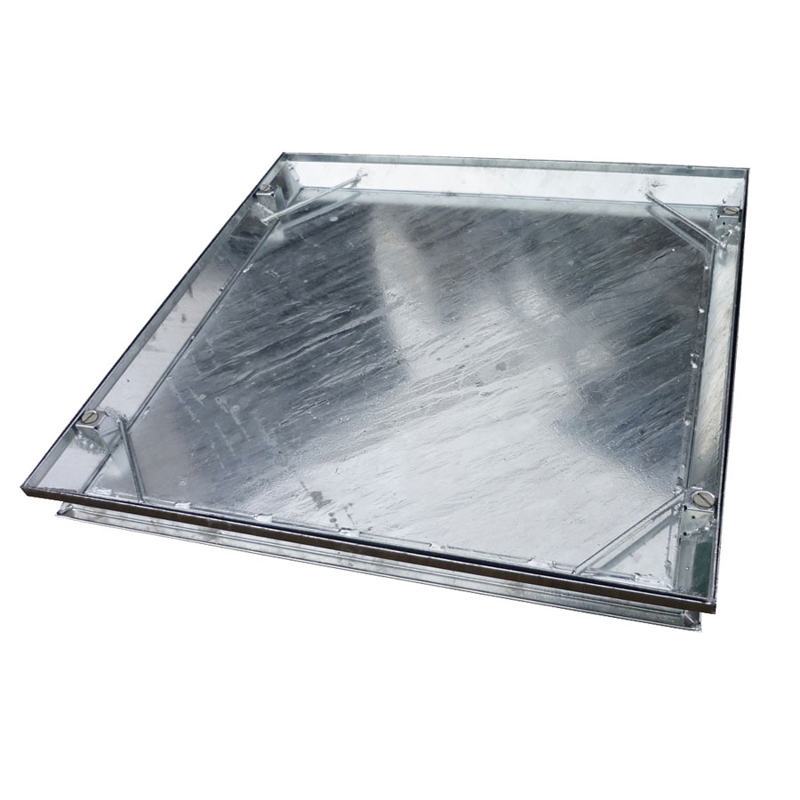 EJ D3104C 600mm x 450mm Double Sealed Locked Manhole Top Cover and Frame