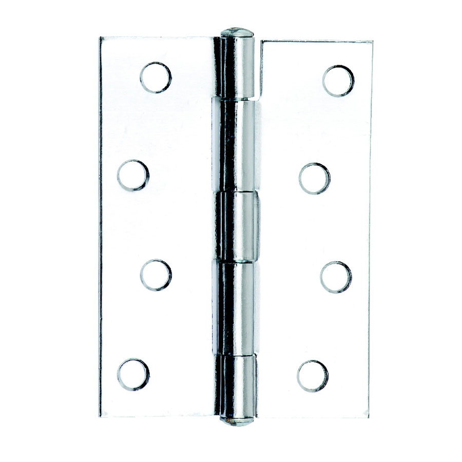 Dale Hardware 6129 Polished Chrome Plated 102mm 1838 Butt Hinge Pair