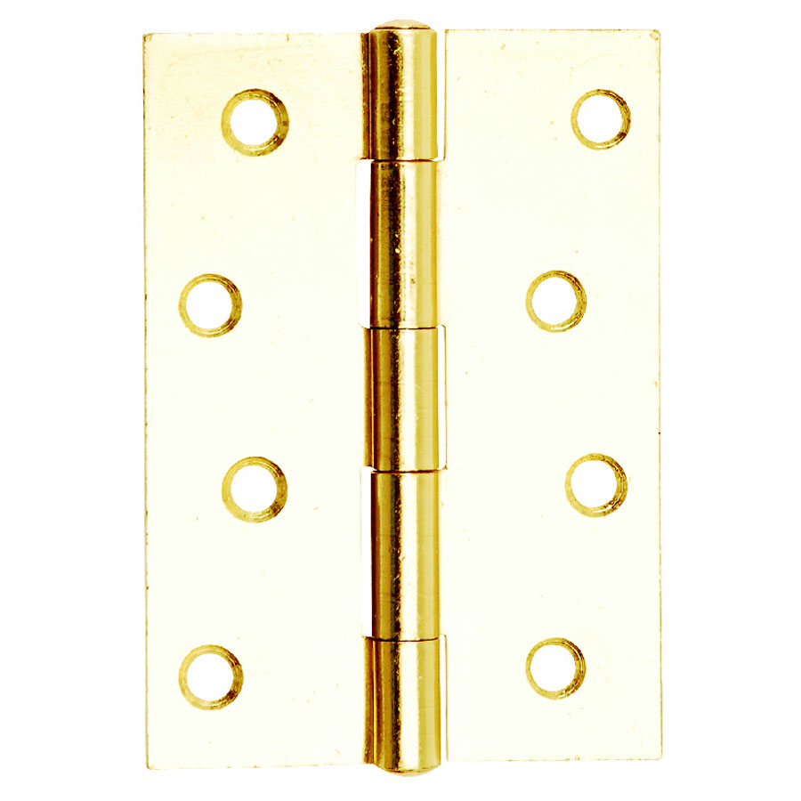 Dale Hardware 6139 Electro Brass 102mm 1838 Butt Hinge Pair