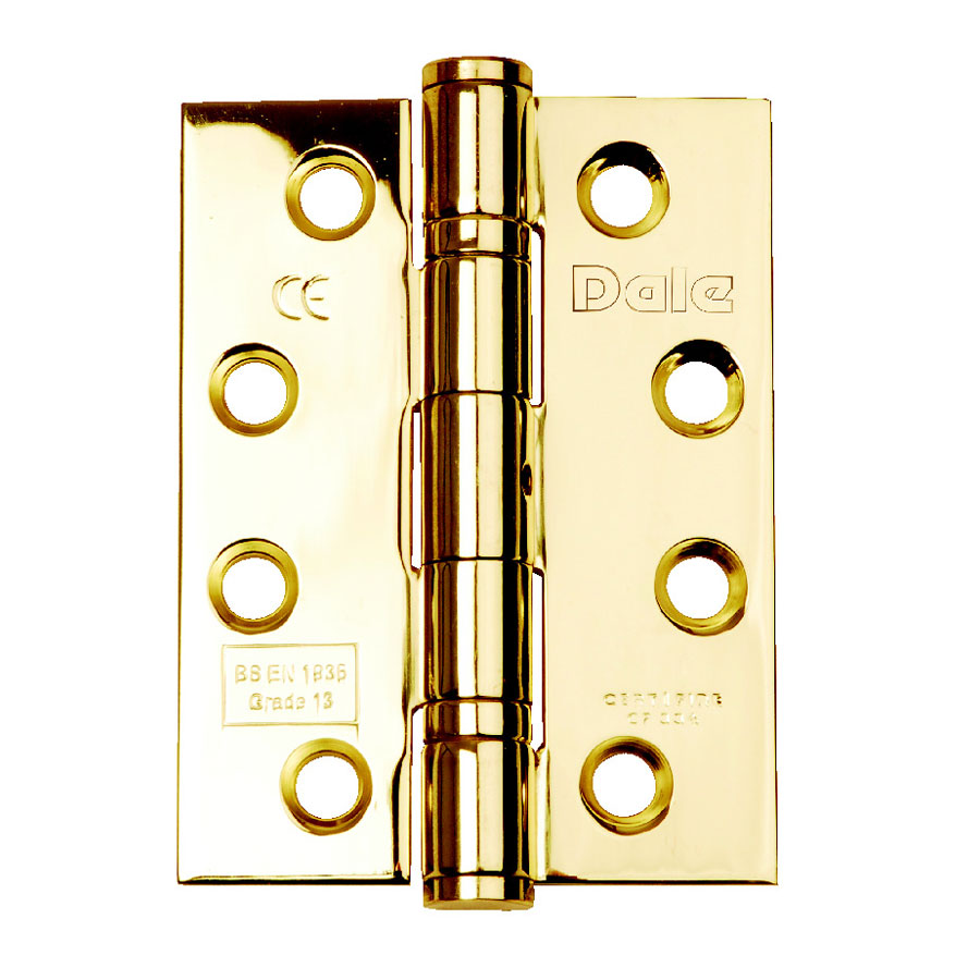 Dale Hardware DX40616 102mm x 76mm x 3mm Ball Bearing Hinge