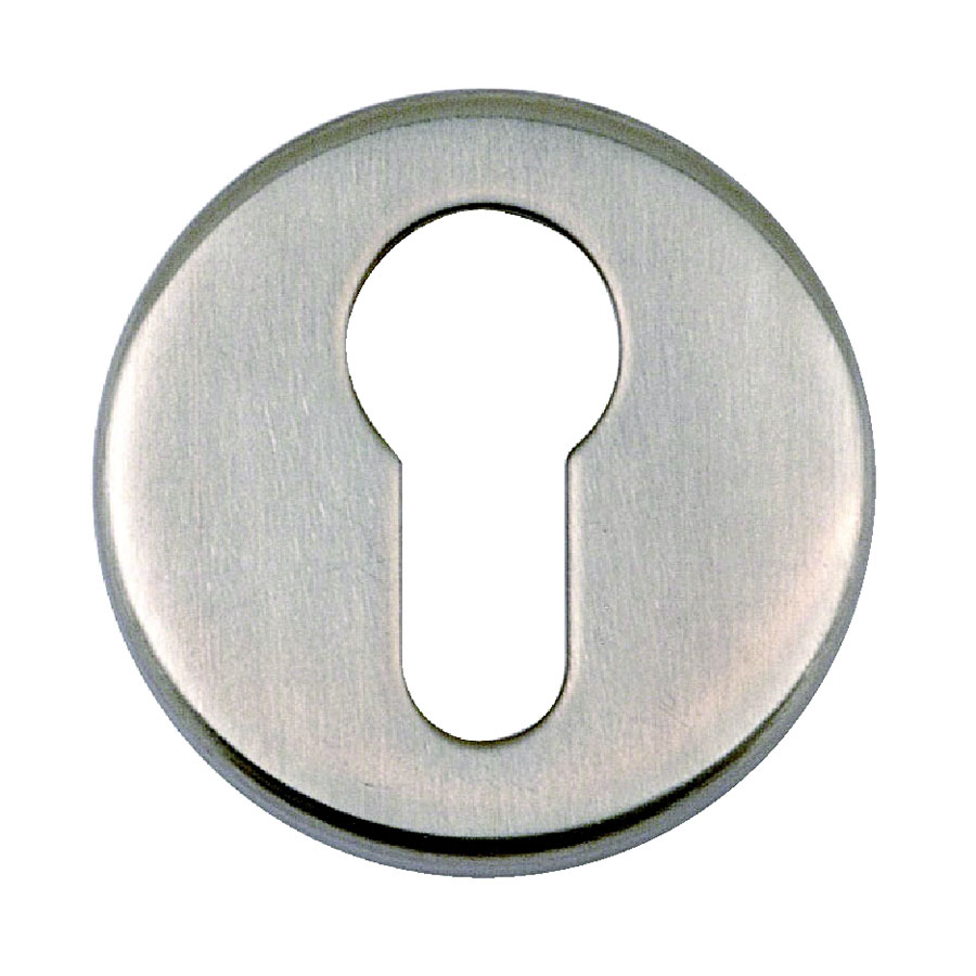 Fireband FB131 Satin Stainless Steel Euro Profile Escutcheon