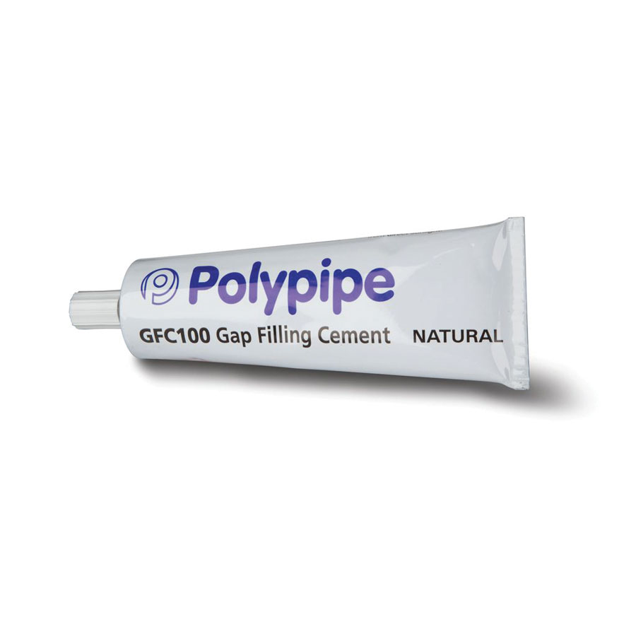 Polypipe GFC100 Clear Natural Gap Filling Cement 140g