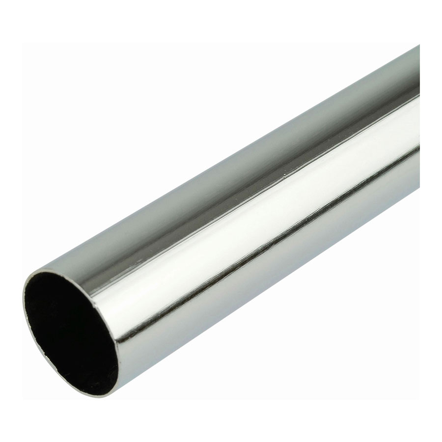 LCT2509 25mm x 900mm Round Chrome Plated Tube