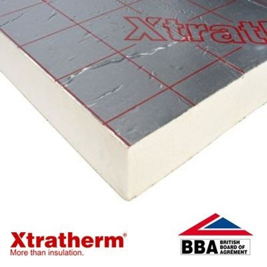 Xtratherm 2.4m x 1.2m x 40mm Thin-R Insulation Board