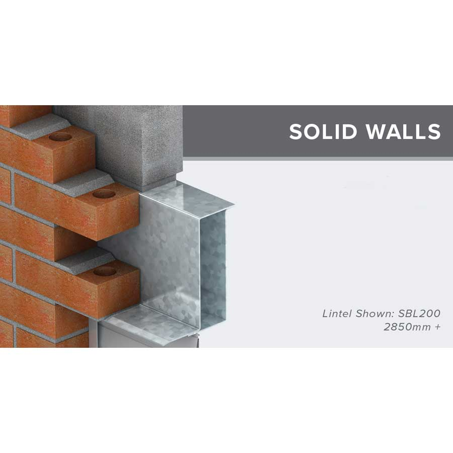 Birtley SBL200 Medium Duty Solid Wall Lintel 2700mm