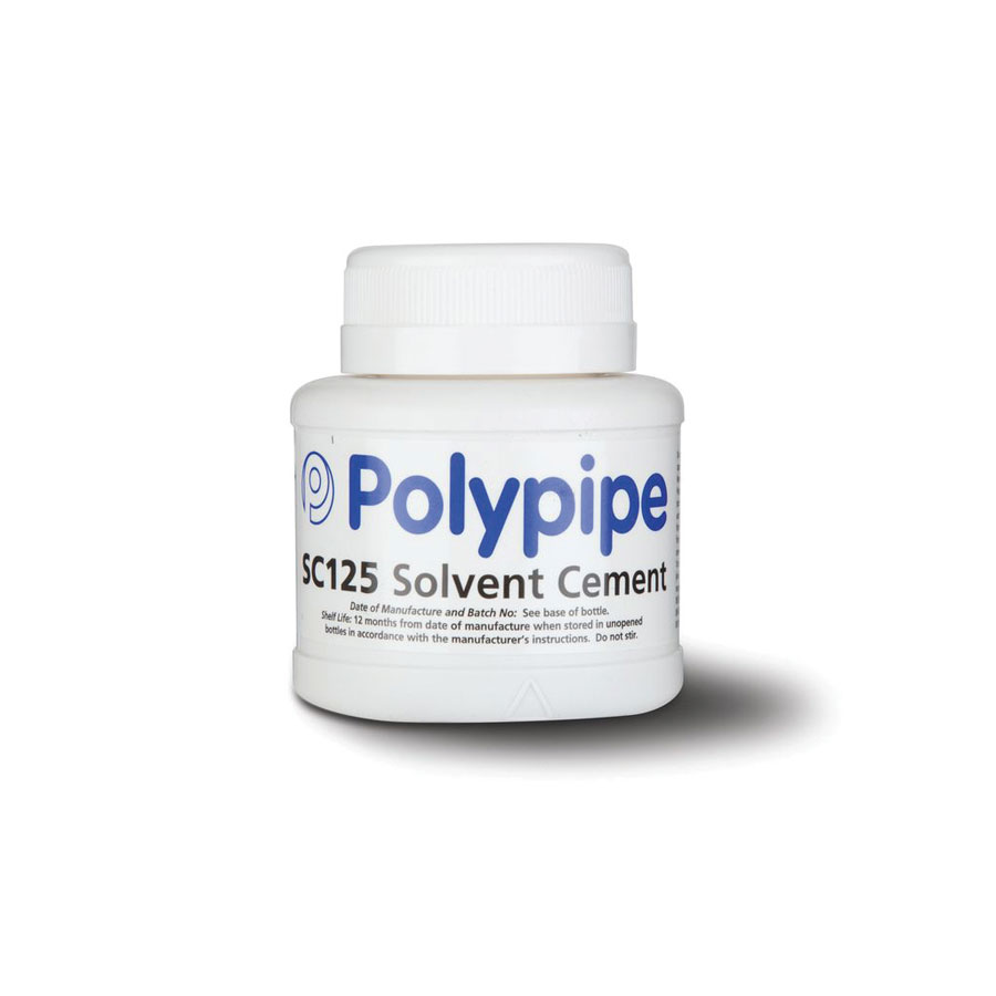 Polypipe SC125 Solvent Cement 125ml