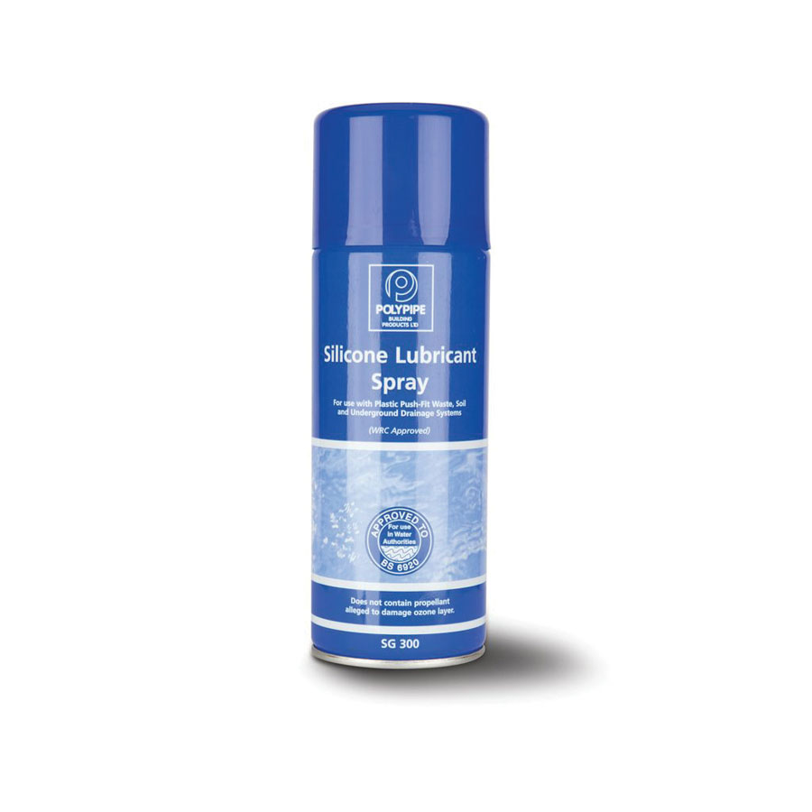Polypipe SG300 Aerosol Lubricant Spray 400ml