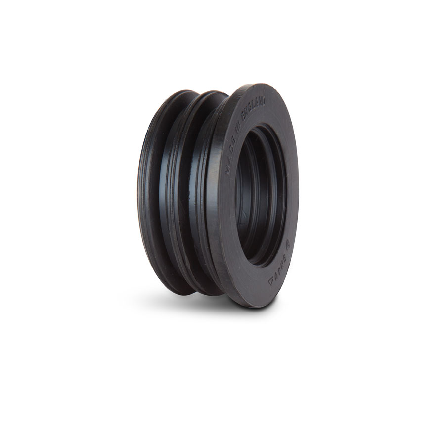 Polypipe SN50 Push Fit Rubber Boss Adaptor 50mm