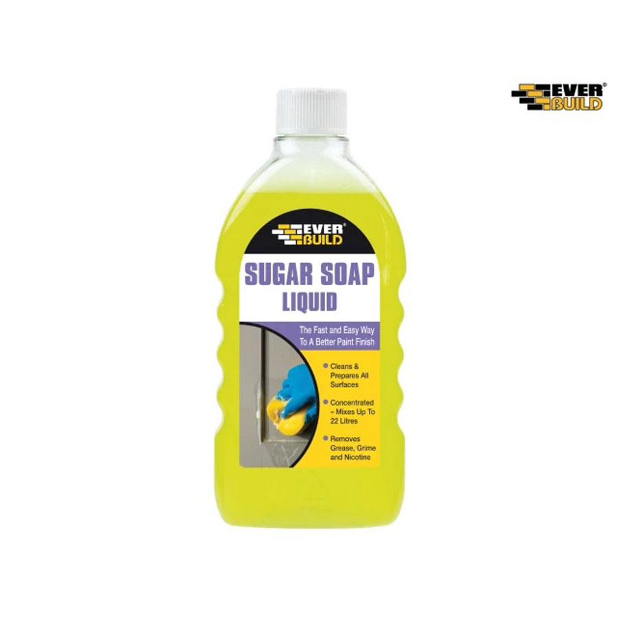 Everbuild SOAPLIQ Sugar Soap Liquid 500ml